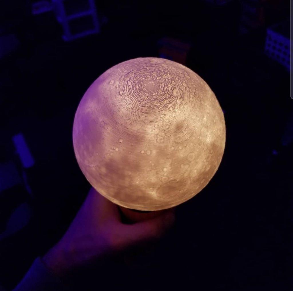 Moon 3D Printing
