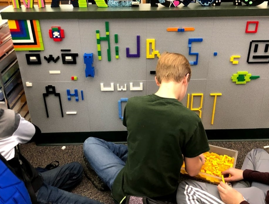 Using Building Bricks in Your Makerspace