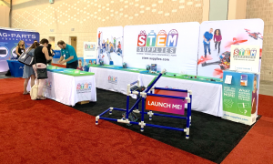 STEM Supplies Conference Booth