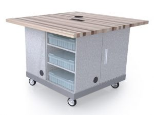 makerspace storage table