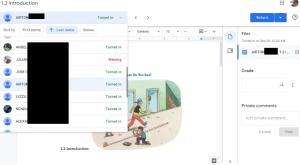 Google Classroom Classwork Tab