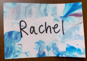 chemistry activity - lather nametags