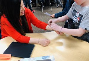 teaching empathy through SDG bracelets