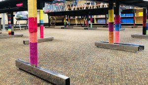 teaching empathy with yarn bombing