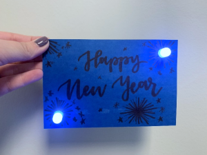 holiday STEM lighted cards