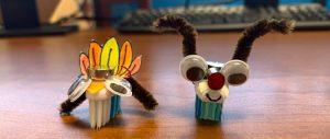 turkey & reindeer bristlebots