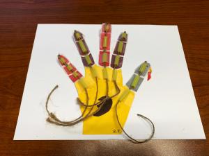STEM turkey hand