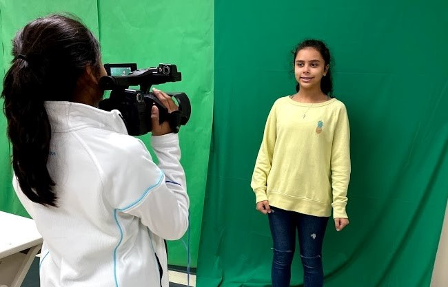 Learning Experiences with Green Screens