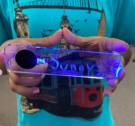 How to Make DIY LED Name Tags