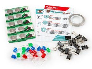 LED paper circuits