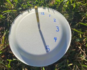 DIY sun clock