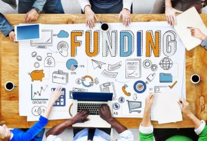 funding table down graphic