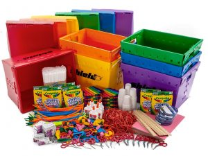 summer program STEM bins