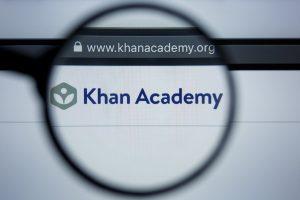 Khan Academy online math tool
