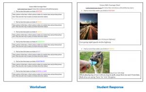 introductory scavenger hunt worksheets